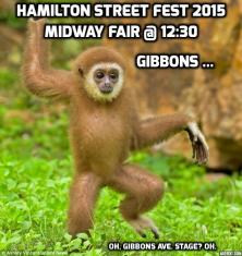 Gibbon Hamilton Street Fest